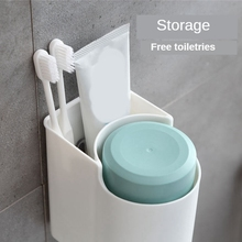 Rack Toothbrush-Holder Toothpaste-Storage Bathroom-Accessories Mouthwash-Cup Green
