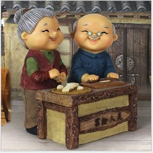 Old Couple Home Decoration Wedding Gift  Creative And Warm For New Room Bedroom