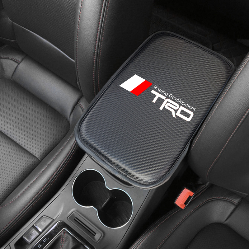 Image 5 - Car Styling for Toyota TRD camry corolla rav4 yaris prius Car Armrest Pad Covers Auto Seat Armrests Storage Protection Cushion-in Car Tax Disc Holders from Automobiles & Motorcycles