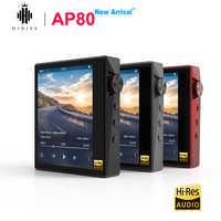 Hidizs AP80 Hallo-Res ES9218P Bluetooth HIFI Musik MP3 Player LDAC USB DAC DSD 64/128 FM Radio HibyLink FALC DAP