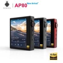 Hidizs AP80 Hi-Res Bluetooth de música de alta fidelidad MP3 jugador ES9218P tecnología LDAC USB DAC DSD 64/128 FM Radio HibyLink FLAC DAP