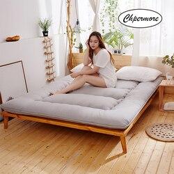 Chpermore thicken keep warm mattresses 다다미 접이식 학생 싱글 더블 기숙사 매트리스 킹 퀸 트윈 풀 사이즈