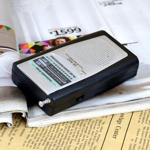Image 4 - Portable Radio Mini AM FM Telescopic Antenna Radio Pocket World Receiver Multifunctional Mini Radio