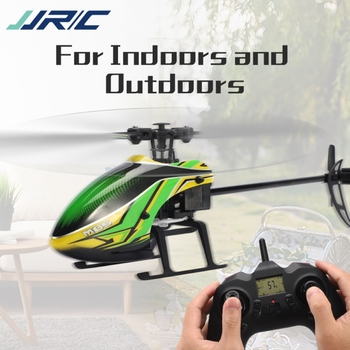 JJRC M05 RC Helicopter 2.4GHz 4 Channel 6-Axis Gyro Stabilizer Altitude Hold Helicopter for Indoor to Fly for Kids and Beginners 5