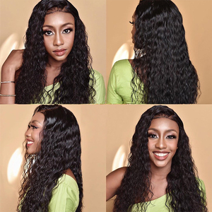 Image 5 - Jaycee Water Wave Human Hair Wigs 150% Density Lace Frontal Wigs For Women Water Wave Lace Front Human Hair Wigs Brazilian Wig