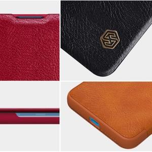 Image 5 - Xiaomi Mi 10 Case Nillkin Qin Serie Pu Leather Flip Cover Case Voor Xiaomi Mi10 Lite Mi 10T Pro 5G