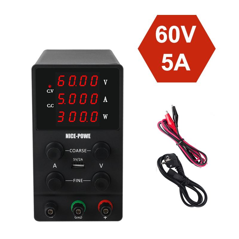 <font><b>Adjustable</b></font> Bench Voltage Regulated Switching Lab <font><b>Power</b></font> <font><b>Supply</b></font> laboratory <font><b>Power</b></font> Feeding With <font><b>Power</b></font> Display <font><b>30v</b></font> 10a 60v <font><b>5a</b></font> image