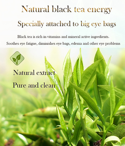 Image 5 - FONCE Black Tea Collagen Crystal Eye Patches 60pcs Natural Remover Dark Circles Sleep Mask Bags Under The Eye Mask