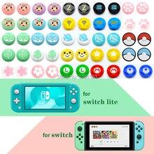 4 pezzi tappi per impugnature analogiche per nintendo Switch Lite per JoyCon Controller stick Cap Skin per Joy Con Joystick Cover accessorio