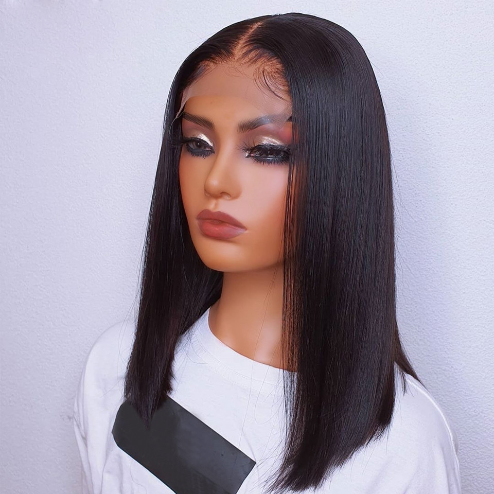 Silky Straight Lace Front Wig Cosplay Glueless Daily Wig With Baby Hair