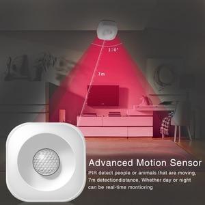 Image 5 - WIFI PIR Motion Sensor Wireless Infrared Detector Security Burglar Alarm Sensor Tuya APP Control  Smart Home