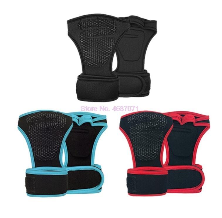 Gym-Gloves Lifting Wrist-Wrap Fitness-Weight Training Half-Finger Sports Anti-Slip DHL