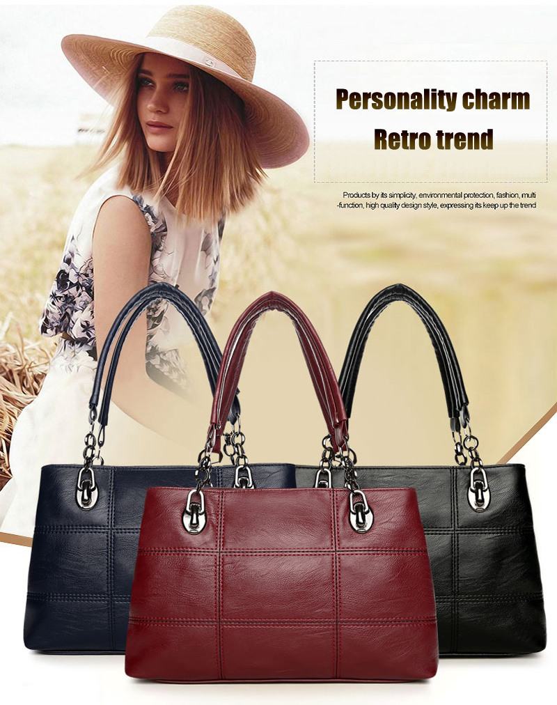 Luxury brand plaid Messenger bag ladies new large female handbag designer multi-color leather messenger shoulder 8808
