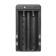 Nowa ładowarka 18650 18650 inteligentna ładowarka AC 110-240V 4 2V akumulator litowo-jonowy podwójna bateria wtyczka US do ładowarki tanie tanio ONLENY Elektryczne 32512372602 Standardowa bateria US Plug