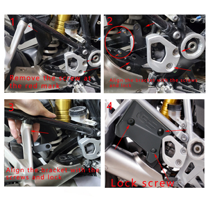 Image 5 - For BMW R1250GS R1200GS LC Adventure Motorcycle Guard Protector Upper Frame Infill Middle Side Panel for BMW GS 1250 1200 GS Adv