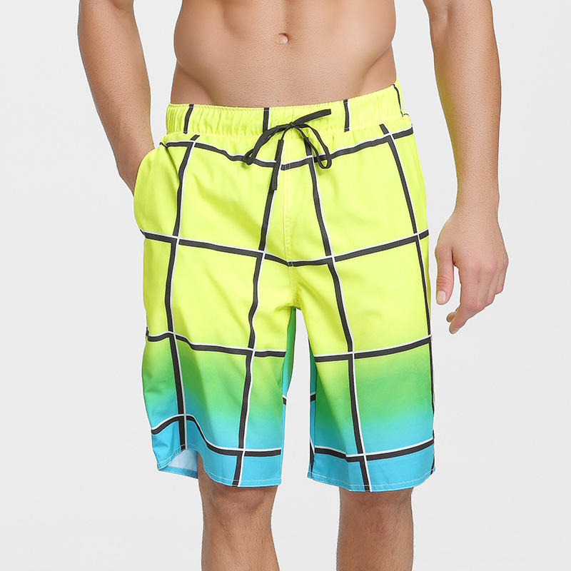 Seaside Fashion Beach Shorts Men's Quick-Dry Shorts Summer Loose And Plus-sized Seaside Short Casual Shorts Large Trunks