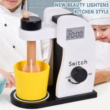 Game-Mixer Kitchen Simulation-Blender Wooden-Toy Baking-Kit Pretend-Play-Sets Kids Children