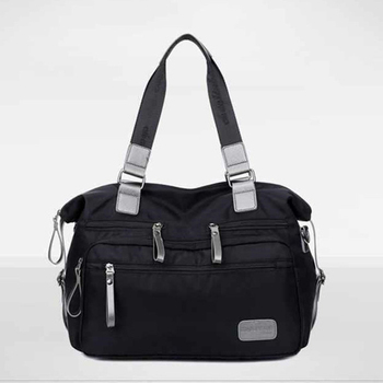 Mens Shoulder Messenger Bag Nylon Material British Casual Fashion Style High Quality Multi-function Large Capacity Design