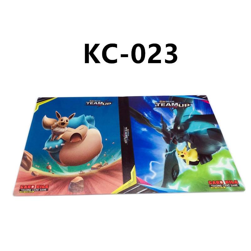240 шт. держатель Альбом 24 стиля Покемон карты Альбом Книга мультфильм аниме карманный монстр игрушка Пикачу для детей подарок - Цвет: KC-023