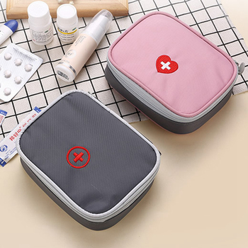 Fashion Ambulance Storage Bag Travel Accessories Package Portable Travel Medicine Suitcase Cleaning Case Holder Pouch Parts