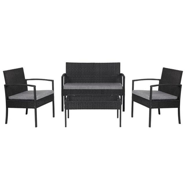 4 PCS Patio  Furniture Set  3