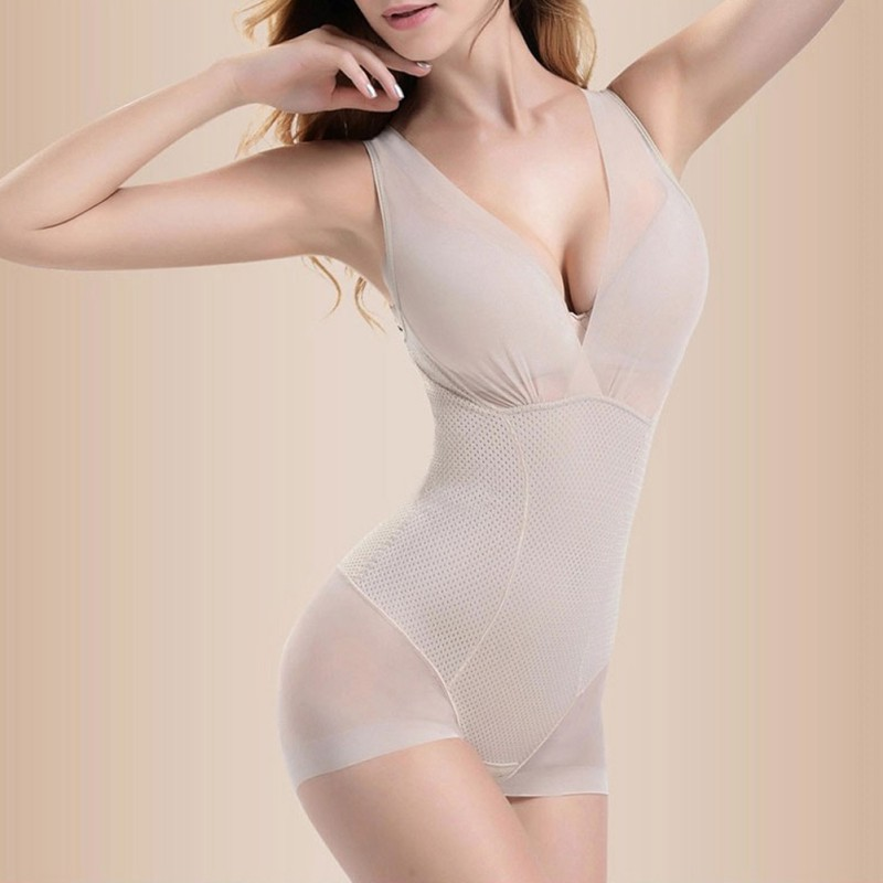 Seamless-Full-Body-Shaperwear-Ladies-Nylon-Body-Shaper-Slimming-Shape-Underwear