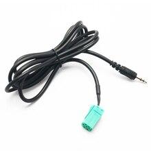 Автомобили 3,5 мм AUX CD стерео аудио линейный вход кабель для Renault Clio Megane Espace Kangoo Лагуна 2005 2006 2007 2008 2009 2010 2011