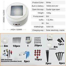 Solar Automatic Watering Device Household Intelligent Timing Automatic Watering Device Charging Water Seepage hometree automatic watering device garden watering adjustable water flow water seepage plant potted watering lazy artifact h1299