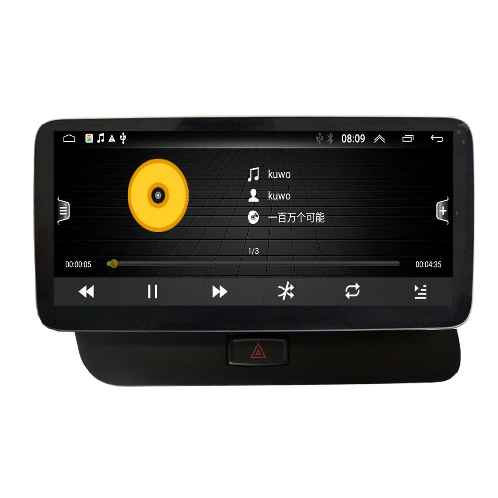 Android 10 System Auto GPS Navigation-Player Für Audi Q5 2009-2017 WIFI 2 + 32GB RAM BT SWC IPS Touch Screen Stereo Spiegel Link