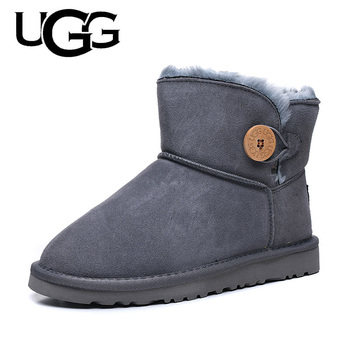 Damskie buty Ugg 3352 oryginalne buty damskie wełniane ciepłe zimowe oryginalne Uggs buty damskie klasyczne Uggs Australia buty damskie tanie i dobre opinie VN (pochodzenie) Futro Połowy łydki Graniczy Ugg Boots 3352 Dla dorosłych Mieszkanie z Buty śniegu Prawdziwej skóry