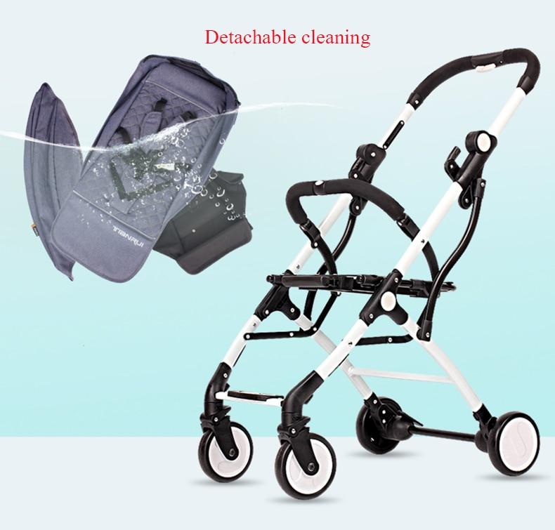 para bebê recém-nascido carrinho menina menino transporte rápido