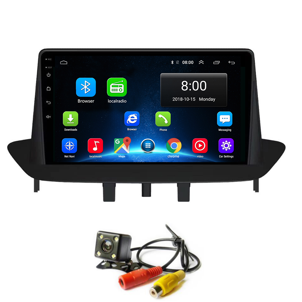 Android 8.1 Car Radio <font><b>GPS</b></font> Navi for Renault <font><b>megane</b></font> 3 Car Multimedia Player Stereo no <font><b>DVD</b></font> Head Unit WIFI Bluetooth image