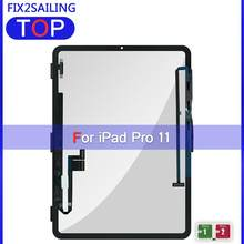 For Apple iPad Pro 11 A1934 A1980 A1979 100% Tested Touch Screen Touch Glass Screen Digitizer For iPad Pro 11