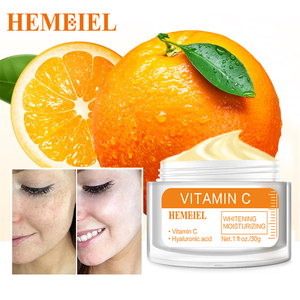 2021 NEW Vitamin C Whitening Cream 100% Natural Essence VC Cream Freckle Blemish Brighten Moisturizing Hyaluronic Face Cream
