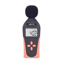 цена на 824C RuoShui Digital Sound Level Meter Noise Meter DB Meter Decibel Measurement 30-130DB Sound Meter Noise Tester