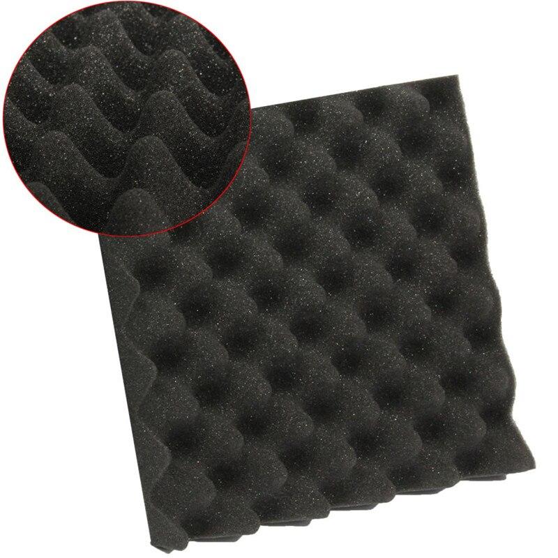 25X25X5CM Soundproofing Foam Acoustic Foam Sound Treatment Studio Room Absorption Wedge Tiles Polyurethane Noise Insulation