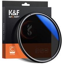 K&F Concept MC CPL Filter Ultra Slim Optics Multi Coated Circular Polarizer Camera Lens Filter 49mm 52mm 58mm 67mm 72mm 77mm