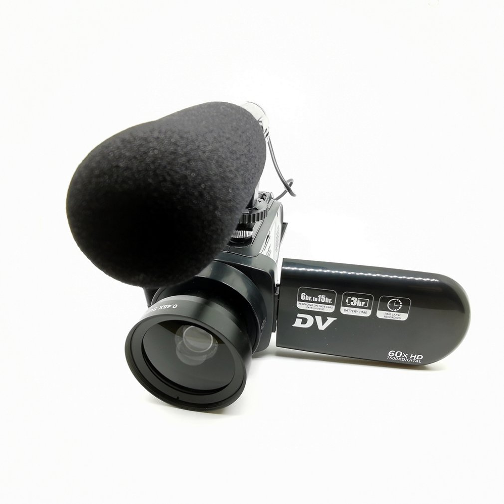 Radient D601 Lightweight 16 Million Pixel Digital Video Camera With Wide-angle Lens Microphone Recording