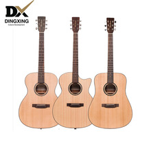 Professional Acoustic guitar 40 41 inch Spruce top Solid Wood musical Stringed instruments steel strings guitarras Hot china OEM