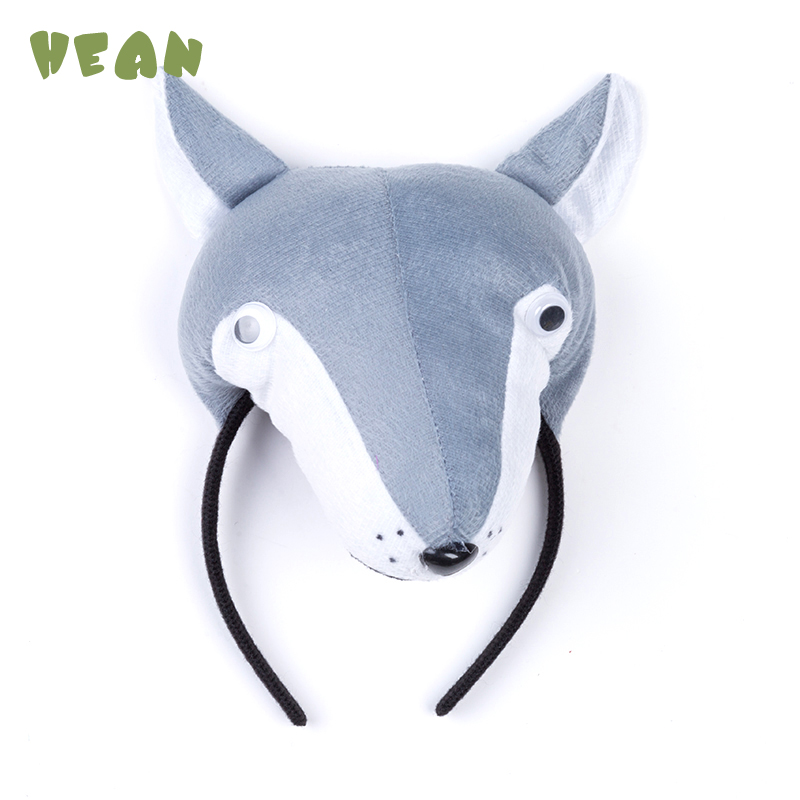 Animal Ear Headband Kids Hair Band Performance Children Hair Accessories Pig Dog Rabbit Monkey Baby Toy  Cosplay For Party Gifts