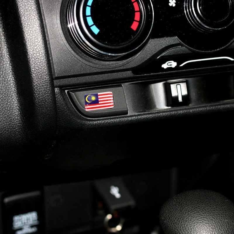 4 יח'\סט רכב סטיילינג 3D מגן דגל רכב מדבקה רוסית ספרד צרפת גרמניה הלאומי סמל קישוט רכב אבזרים