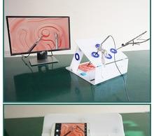 Лапароскопическая коробка для обучения, посылка, имитирующее хирургическое оборудование, высококачественный инструмент, тренажер, хирургический инструмент