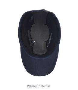 Image 4 - ABS Inner Shell Safety Helmet Bump cap Anti collision Protective Head Baseball Hat Style Breathable Work Construction Site