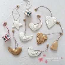 Christmas Tin Pendant/Christmas Tree Decoration Pendant  Exquisite home decore  christmas jewelry ornaments christmas elf