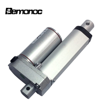 цена на BEMONOC Stroke 50-800mm 2 Inch 12V 24Volt Linear Actuator Motor 100-900N High Speed 10-50mm/s Eletric Linear Actuator Motor