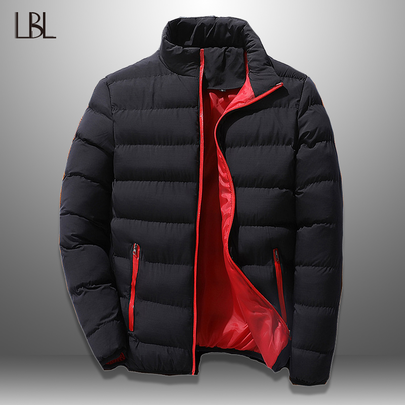Winter Men's Coats Feather Warm Thick Men's  Down Jackets Padded Casual Parkas Men Overcoats Mens Streetwear Brand Clothing 2019