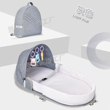 Детские кроватки для сна, детская кроватка для путешествий, легко складывается, детская кроватка, переносная Съемная моющаяся кроватка для путешествий
