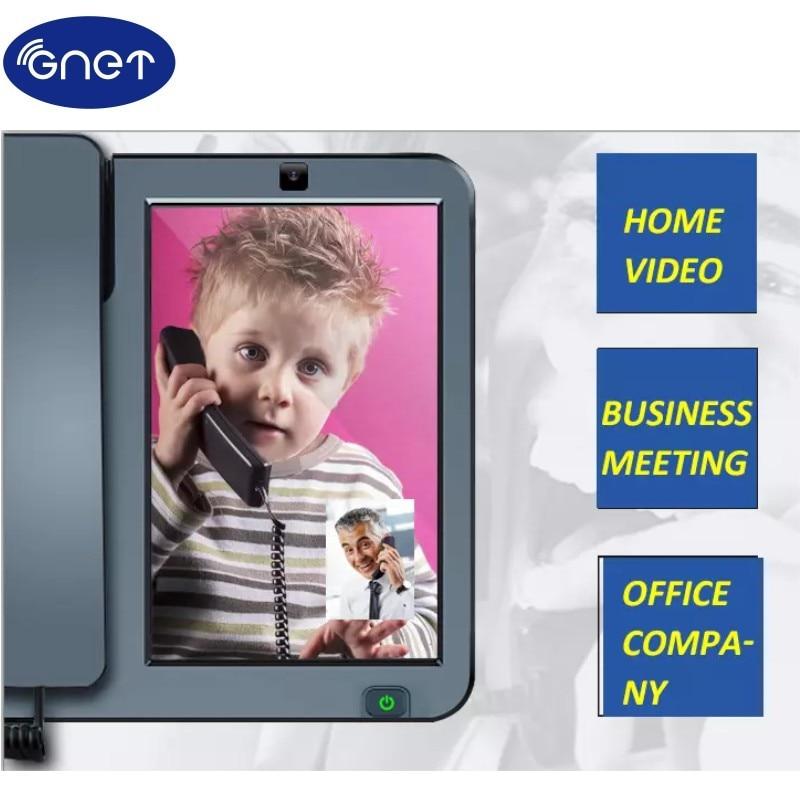 Smart FWP Desktop Wireless Phone 4G Telephone Set With Caerma