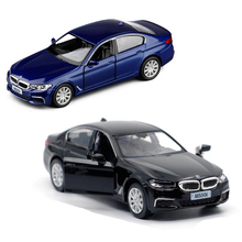 1:36 5 Inches 550i Model Collection Alloy Scale Pull Back Sport Car Models Die-cast Toys for Children V064