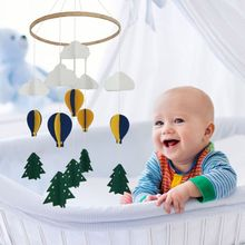 Toy Pendant Bed-Bell Hanging-Ornament Rattle Crib Nursery-Decoration Wind-Chime Tree-Shaped